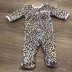 Carter's Little Wild One Leopard Pajama | NB